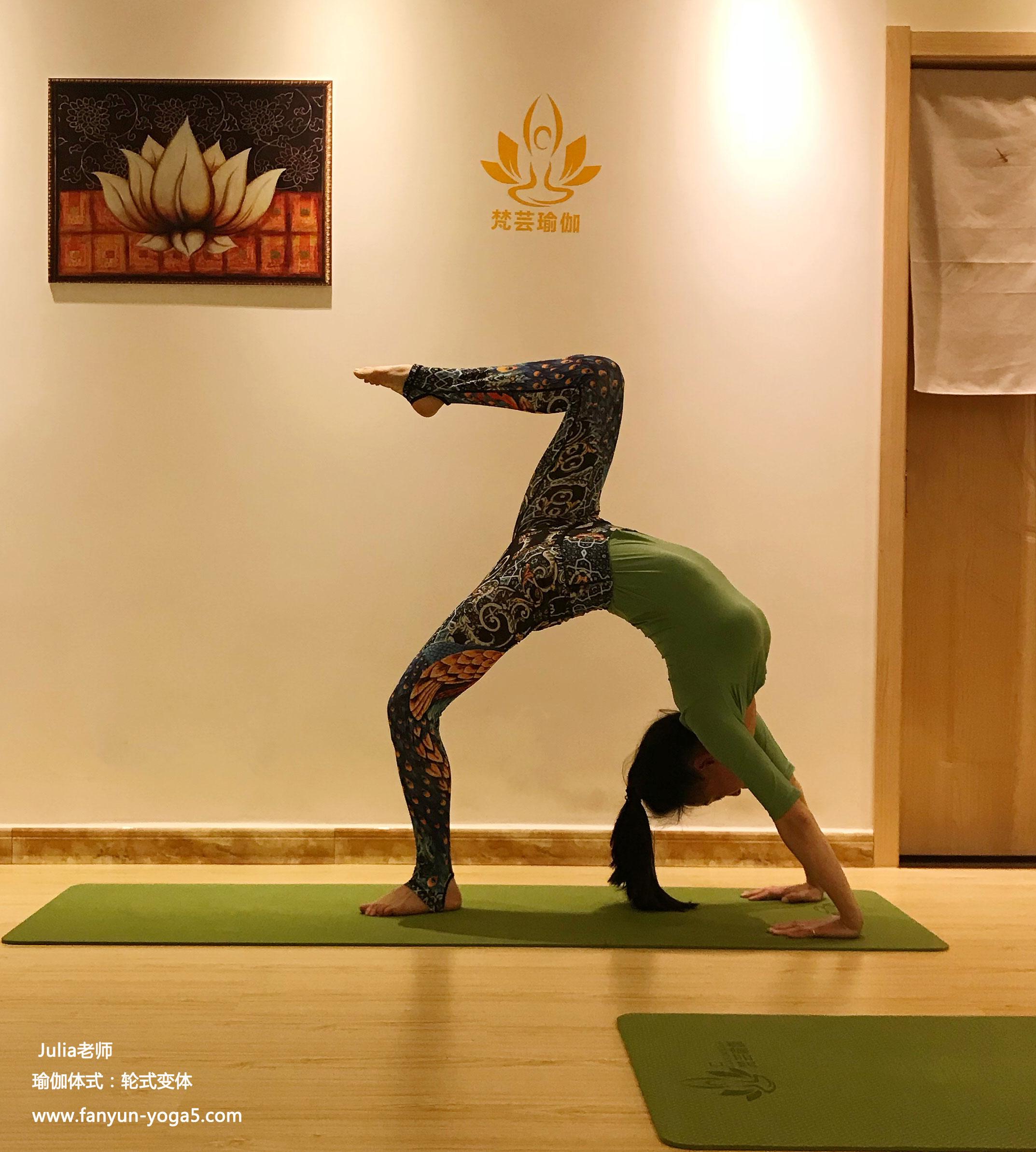 资深瑜伽老师Julia